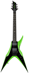 Diamond Bird of Prey ST Electric Guitar - Hemi-Green