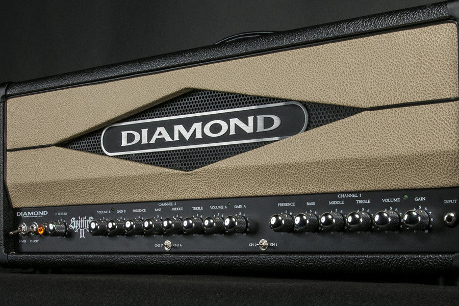 Diamond Amplification Spitfire II 100 Watt USA Made Tube Amplifier