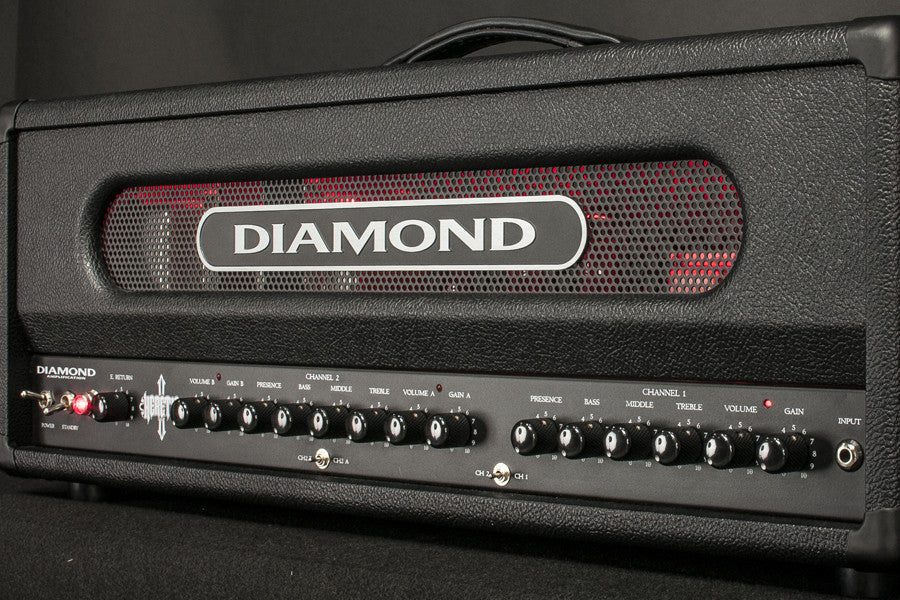 Diamond Amplification Heretic 100 Watt USA Made Tube Amplifier