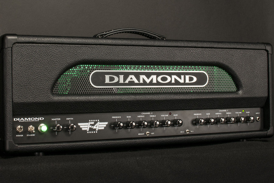 Diamond Amplification F4 100 Watt Tube Amplifier