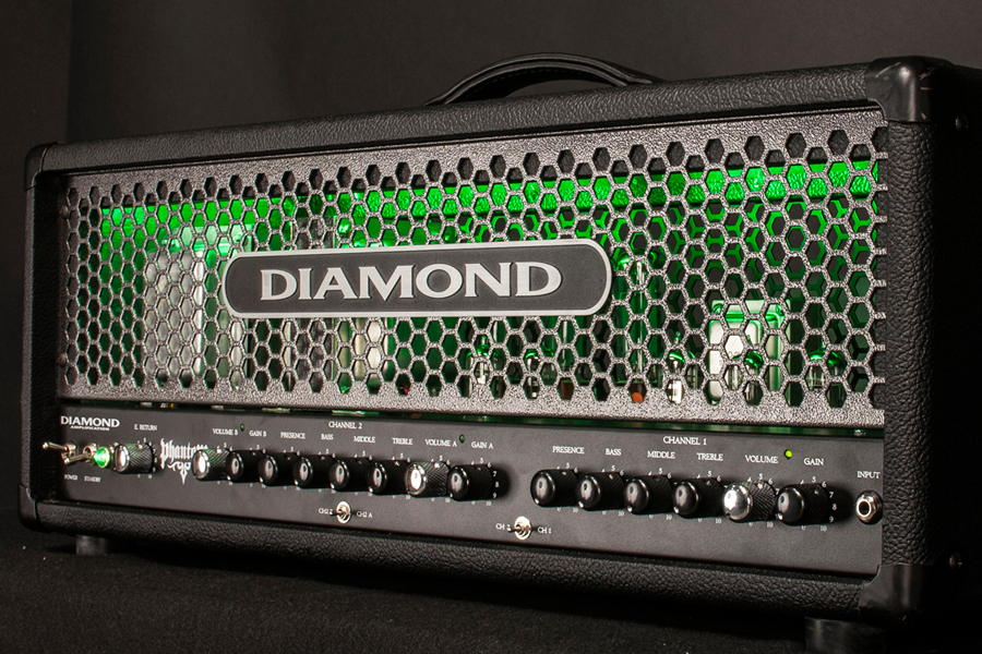Diamond Amplification Phantom 100 Watt USA Made Tube Amplifier