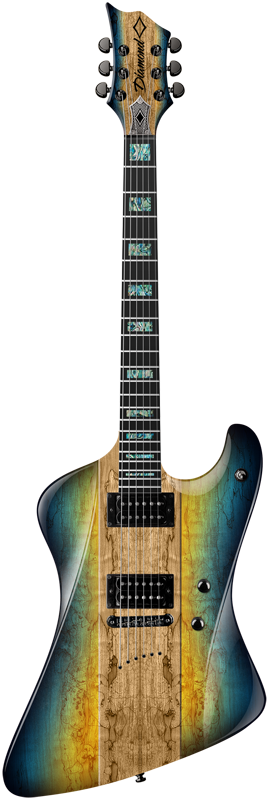 Diamond Hailfire EX Electric Guitar - Room of Tears
