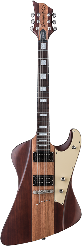 Diamond Hailfire ST Plus Electric Guitar - Satin Walnut