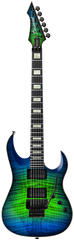 Diamond Halcyon FM-FR Electric Guitar - Jade Iridium