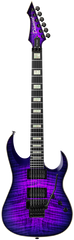 Diamond Halcyon FM-FR Electric Guitar - Ultraviolet