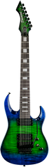 Diamond Halcyon FM-FR 7-string Electric Guitar - Jade Iridium
