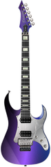 Diamond Halcyon ST-FR Electric Guitar - Galaxy Purple