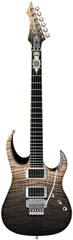 Diamond Halcyon ZB-FR Electric Guitar - Black Moonrise Zoltan Bathory