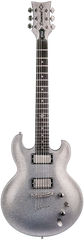 Diamond Imperial JR ST3 Electric Guitar - Silver Sparkle