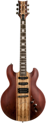 Diamond Imperial ST 3 Electric Guitar - Trans Walnut H/S/S