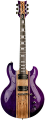 Diamond Imperial ST Electric Guitar - Trans Purple