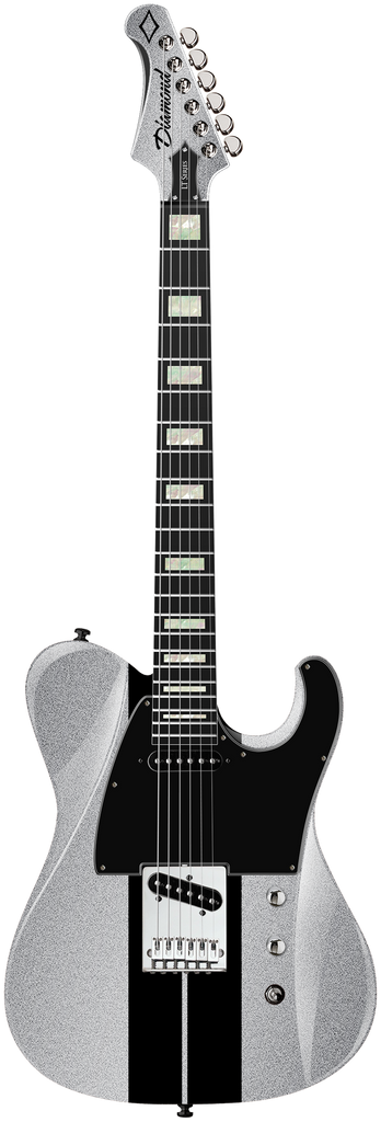 Diamond Maverick ST Electric Guitar - GT Silver