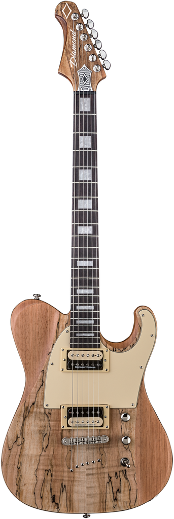 Diamond Maverick SM Electric Guitar - Satin Natural