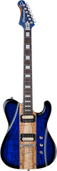 Diamond Maverick SM Electric Guitar - Trans Blue