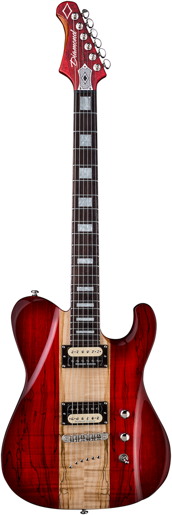 Diamond Maverick SM Electric Guitar - Trans Ruby