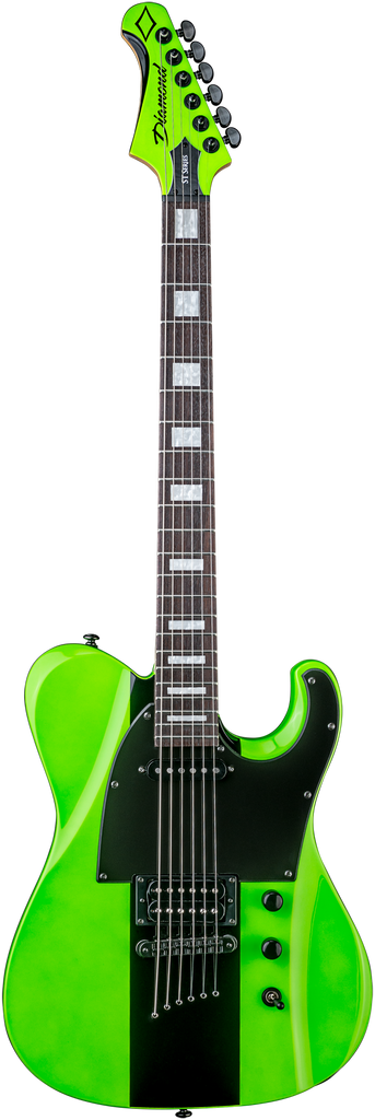 Diamond Maverick ST Electric Guitar - Hemi Green