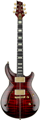 Diamond Monarch SH Semi-Hollow Electric Guitar - Trans Ruby