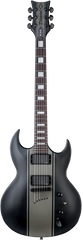 Diamond Renegade EM Electric Guitar - Black with Onyx Stripes