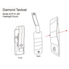 DIAMOND TACTICAL FLASHLIGHT POUCH