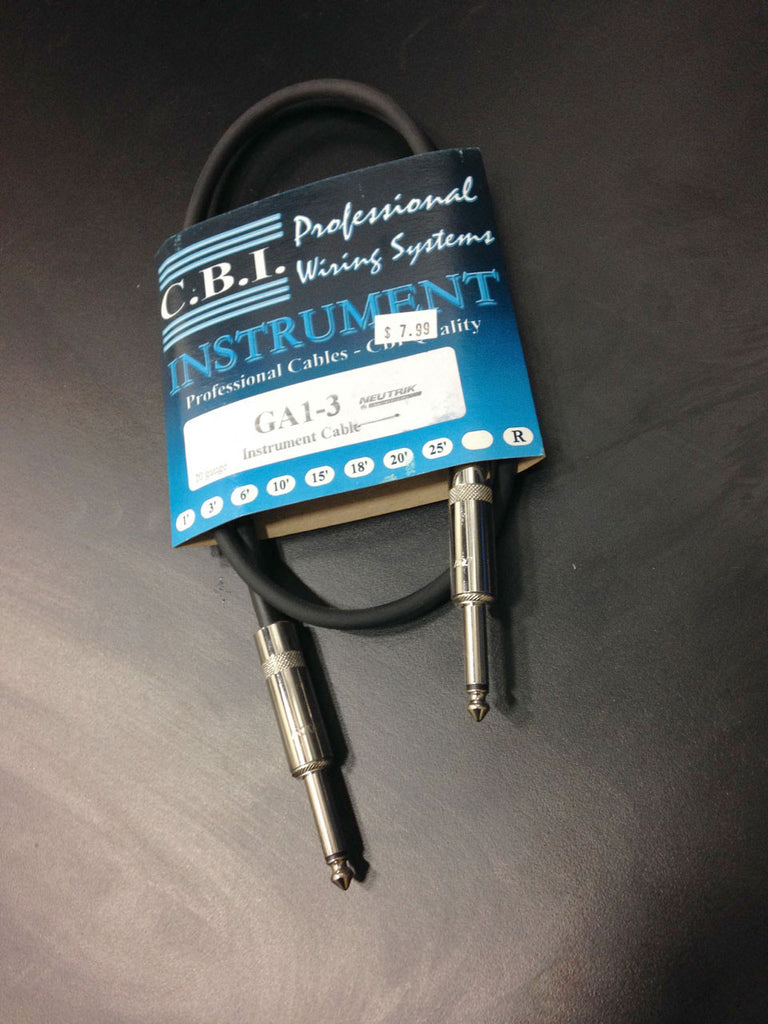CBI GA1 Patch Cable - 3 foot