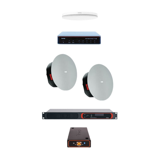 Biamp MRB-C - Complete meeting room kit met Parlé Plafondmicrofoon