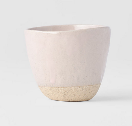 Lopsided Mug - Pink Small - FrenchWillow