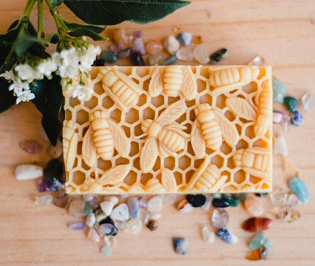 Honey & Beeswax Calendula Soap - FrenchWillow