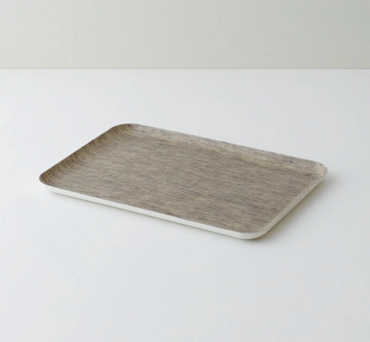 Linen Coated Tray - Medium - FrenchWillow