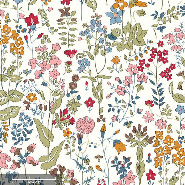* PRE-ORDER Liberty Tana Lawn - Field Flowers B (50cm fabric) - FrenchWillow