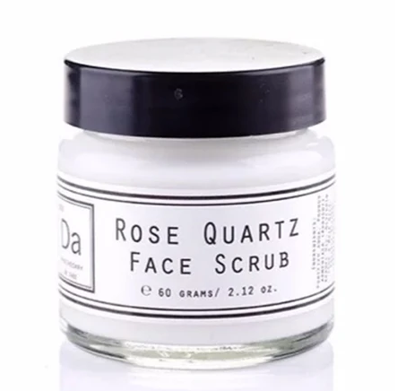 Rose Quartz Face Scrub - FrenchWillow