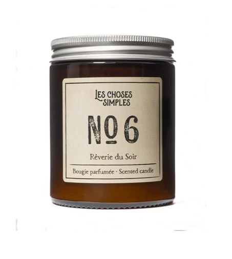 Candle No. 6  - Black Amber & Lavender (Rêverie du Soir) - FrenchWillow
