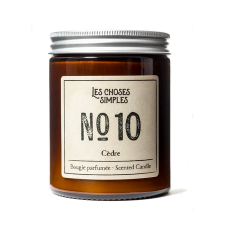 Candle No. 10 - Cedarwood (Cedre) - FrenchWillow