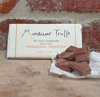 37% Dominican Republic Milk Chocolate - Organic & Gluten Free - FrenchWillow