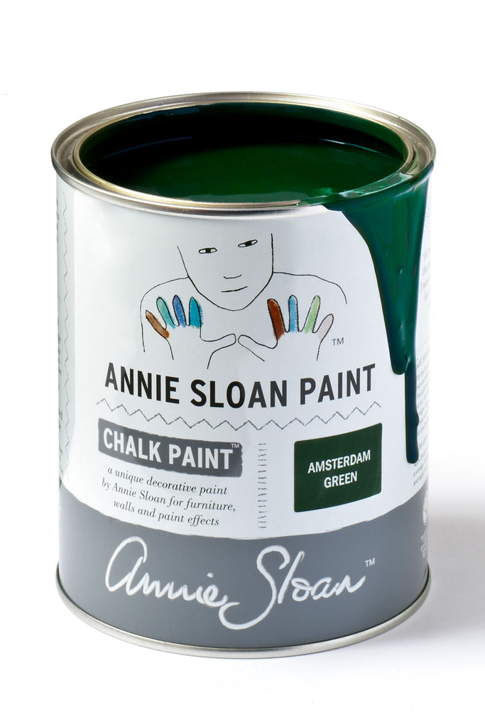 Annie Sloan Chalk Paint in Amsterdam Green - FrenchWillow