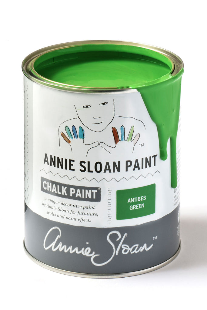 Annie Sloan Chalk Paint in Antibes Green - FrenchWillow