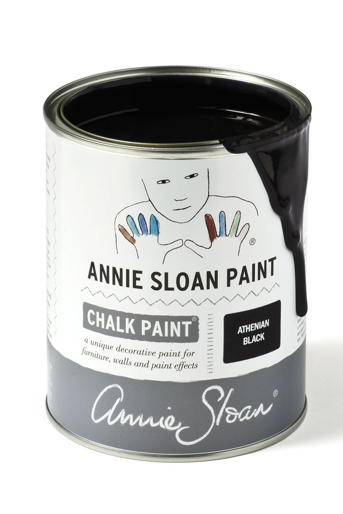 Annie Sloan Chalk Paint in Athenian Black - FrenchWillow