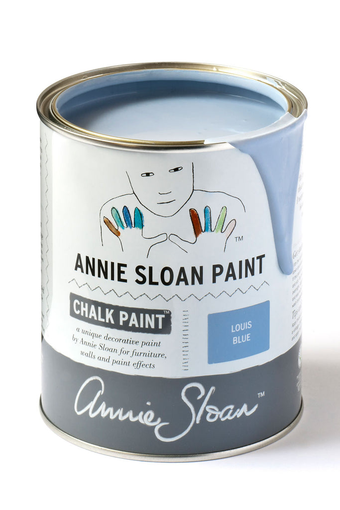 Annie Sloan Chalk Paint in Louis Blue - FrenchWillow