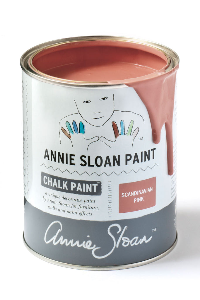 Annie Sloan Chalk Paint in Scandinavian Pink - FrenchWillow