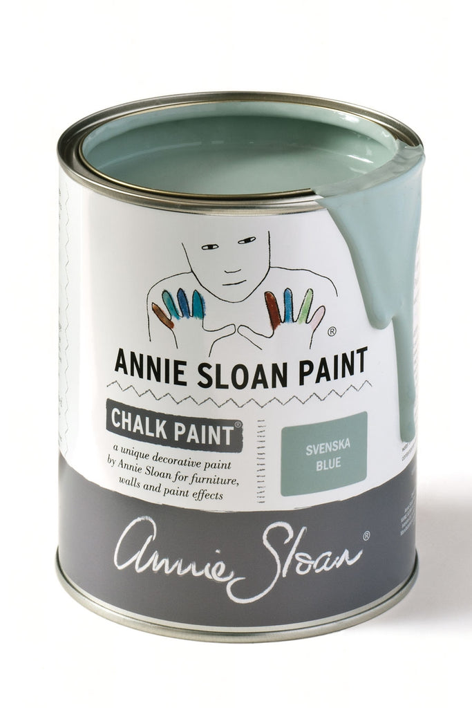 Annie Sloan Chalk Paint in Svenska Blue - FrenchWillow