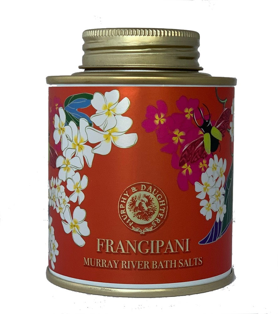 Frangipani Bath Salts - 285g Tin - FrenchWillow