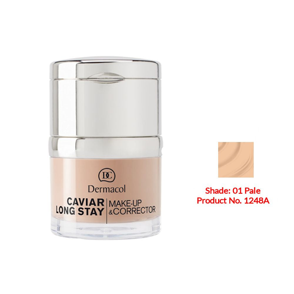 Dermacol Caviar Long Stay Make-Up & Corrector - Pale No.01