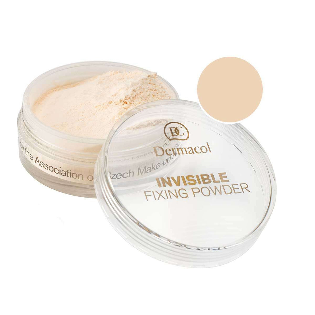 Dermacol Invisible Fixing Powder  – Natural
