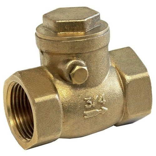 Brass Swing Check Valve FxF BSP
