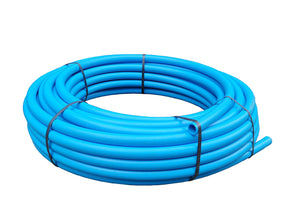 MDPE Blue Water Supply Pipe