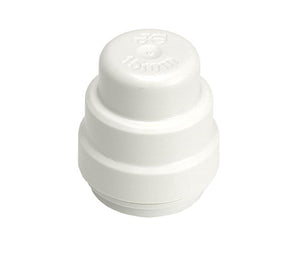 Speedfit Stop End Push Fit White