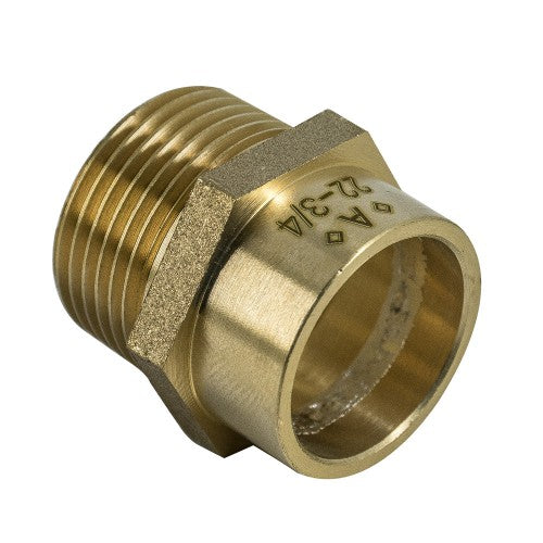Solder Ring Male Coupling WYP3