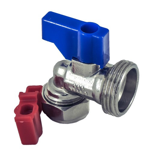 Angled Washing Machine Service Valve