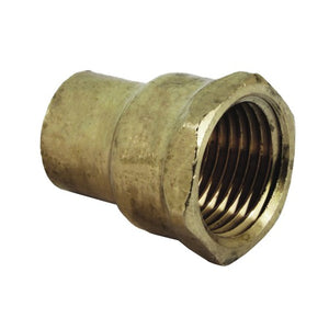 Endfeed N2 Copper / Brass Female Iron Coupler