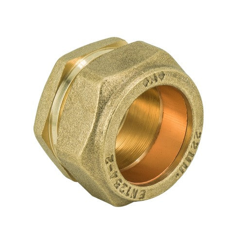 Brass Compression Stopend for Copper tube