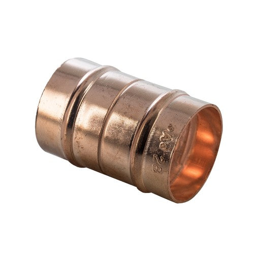Copper Solder Ring Straight Coupling